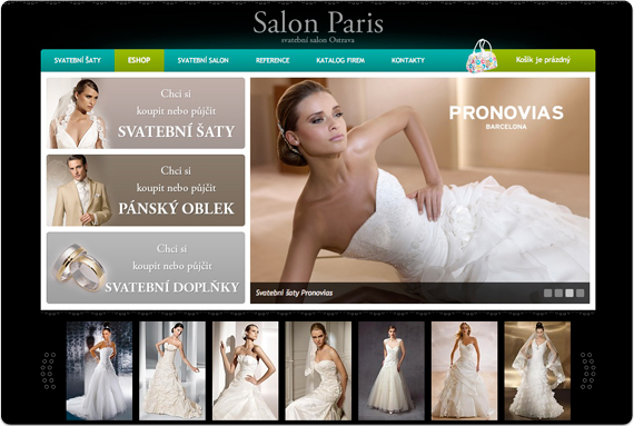 Svatebn� salon Paris